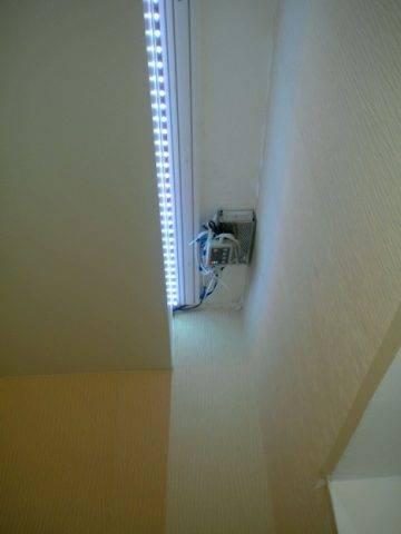 Потолочная ниша в натяжном потолке — как сделать скрытую, отзывы и фото