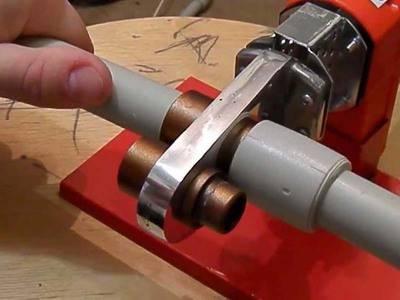 Монтаж полипропиленовых труб своими руками составление проекта и разводки, инструкция по сварке труб