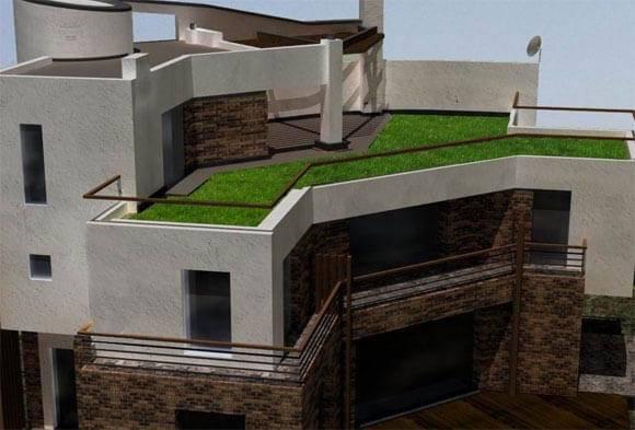 Современный одноэтажный дом с плоской крышей своими руками — пошаговое видео, фото