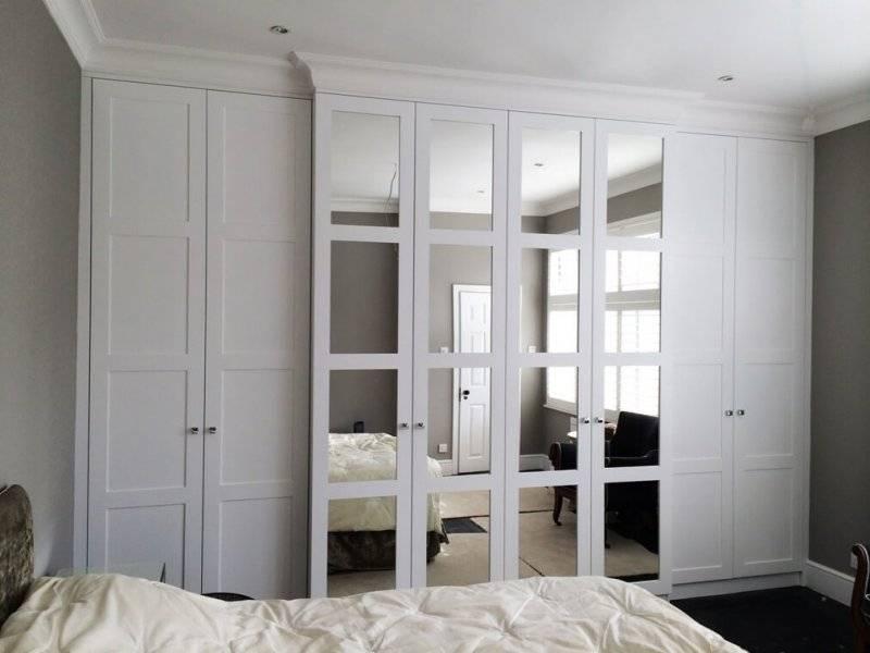 Белый шкаф купе в интерьере спальни — особенности, правила сочетания