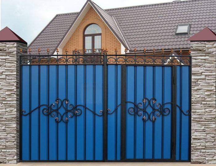 Ворота своими руками — пошаговое изготовление и рекомендации как сделать стильные и надежные ворота