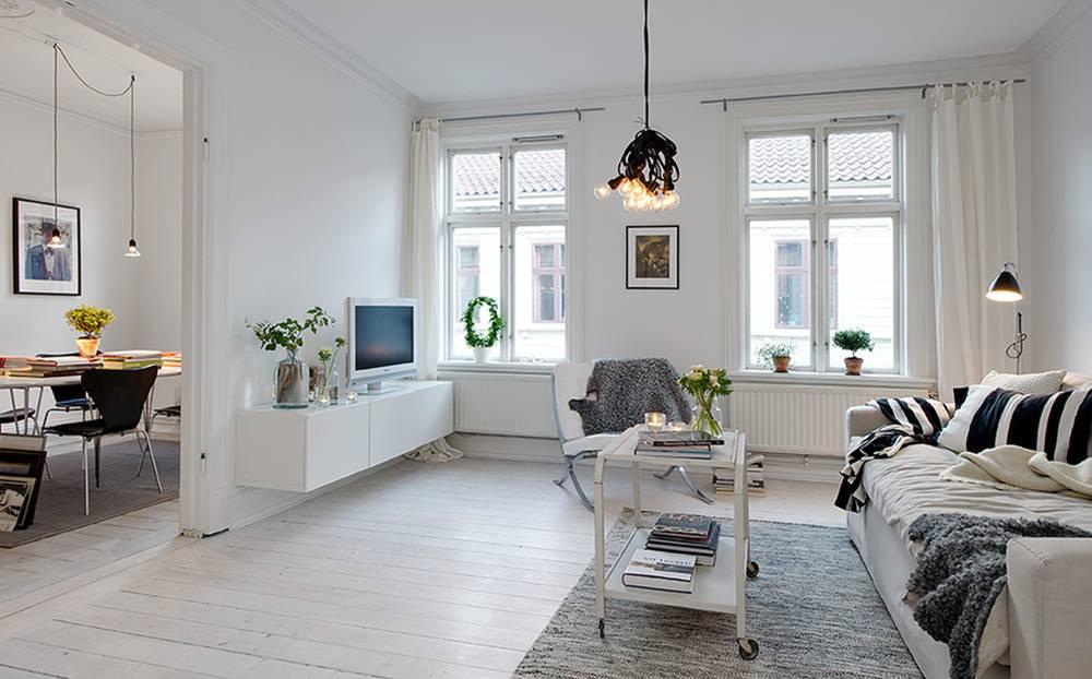 Стены в скандинавском стиле