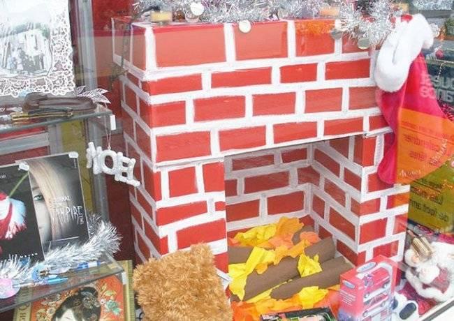Декоративный новогодний камин своими руками: как сделать из коробок рождественский камин пошагово | все о рукоделии