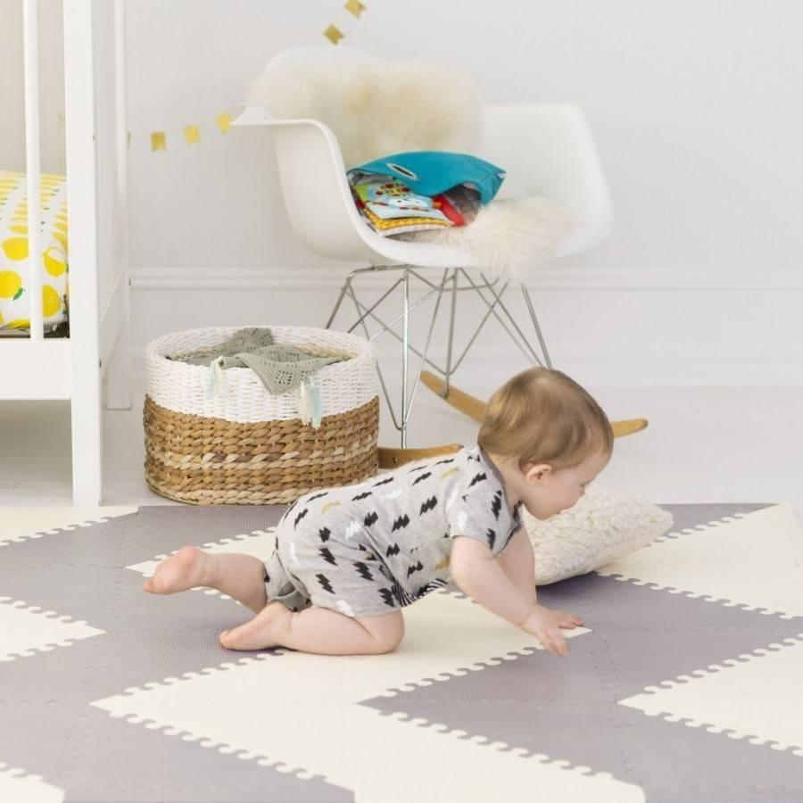 Мягкий пол для детских комнат — красиво, удобно и безопасно