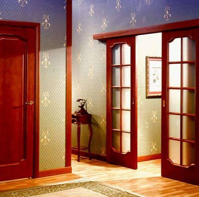 Двери двойные распашные межкомнатные: виды, размер, как выбрать и установить, фото » verydveri.ru