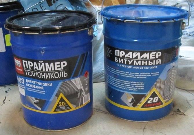 Праймер битумный технониколь 01, технические характеристики, применение, расход, нанесение, хранение