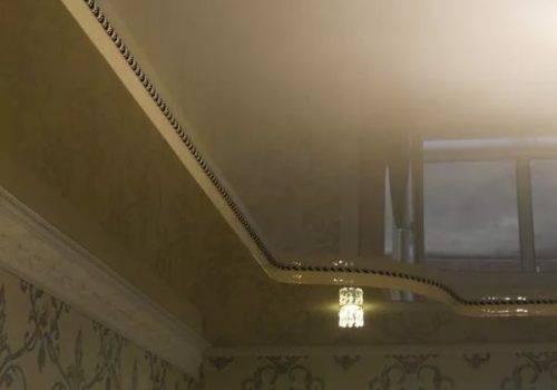 Плинтус для натяжного потолка: секреты установки, фото, видео
