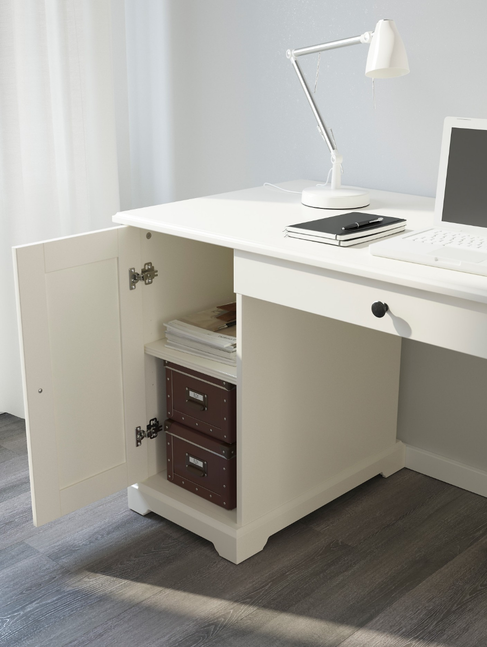 Письменный стол икеа — обзор лучших моделей столов. ( фото в интерьере)