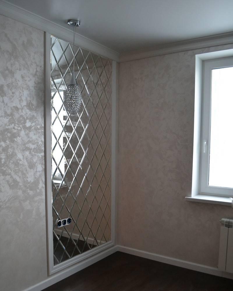 Зеркальная плитка в дизайне интерьера: правила применения