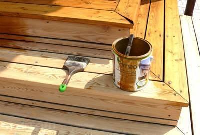 Масло для покрытия древесины: преимущества использования и секреты нанесения (+38 фото)