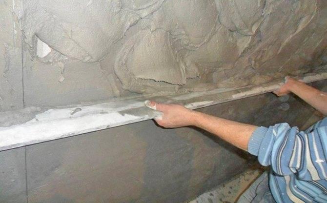 Как штукатурить углы стен: внешние, внутренние