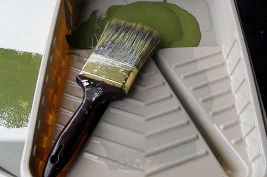 Как и чем разбавить густую водоэмульсионную краску?