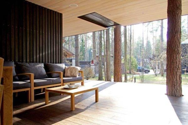 Дизайн веранды на даче: идеи оформления дачной веранды в частном доме