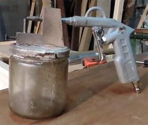 Краскопульт своими руками в домашних условиях без компресора, (видео из пылесоса)