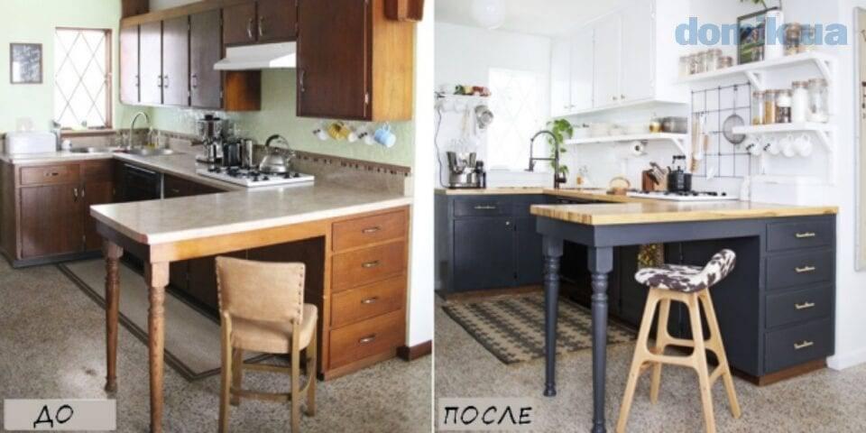 Старый новый стол — реставрация и обновление своими руками