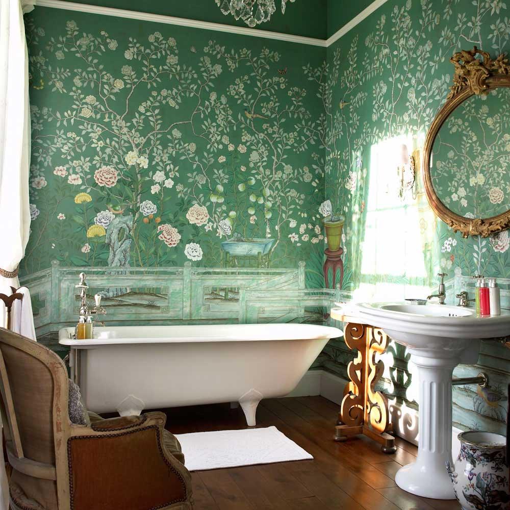 Подходят ли стеклообои для ванной комнаты?