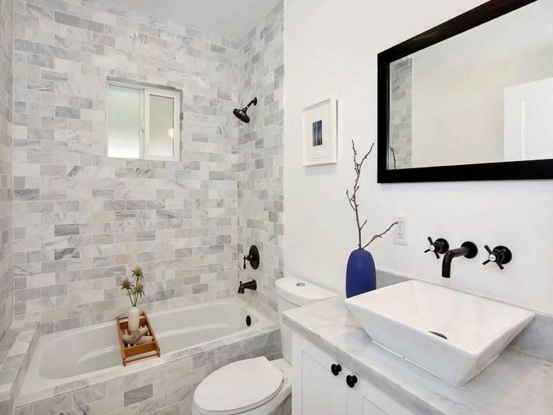 Ванная комната: дизайн, фото 6 кв м, санузел совмещенный, рекомендации, советы