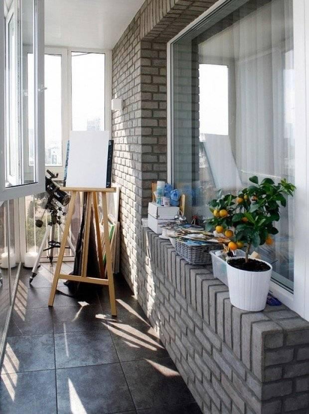 Балкон (лоджия) в стиле лофт: 100 фото, дизайн, интерьер, декор, своими руками