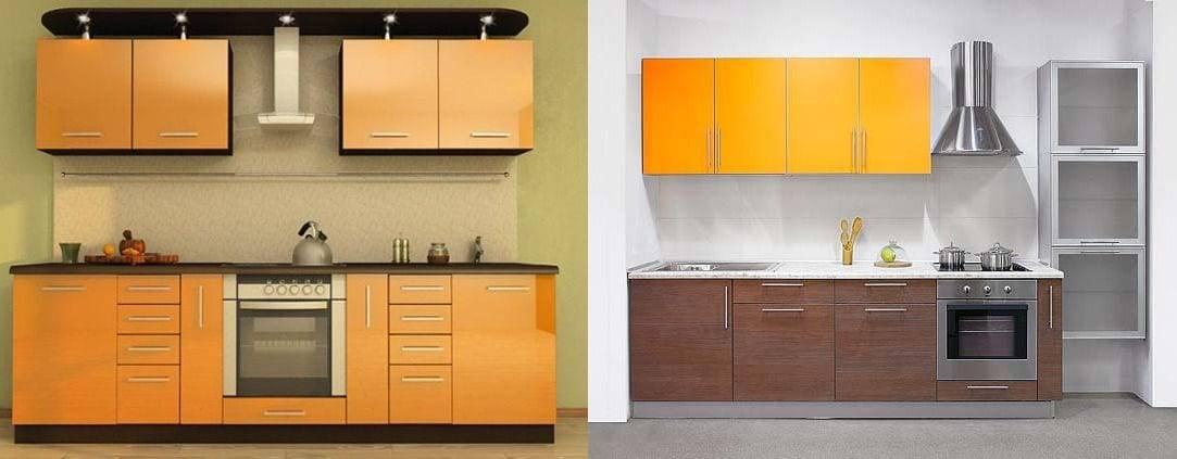 Кухня из пластика: реальные фото примеры, плюсы и минусы