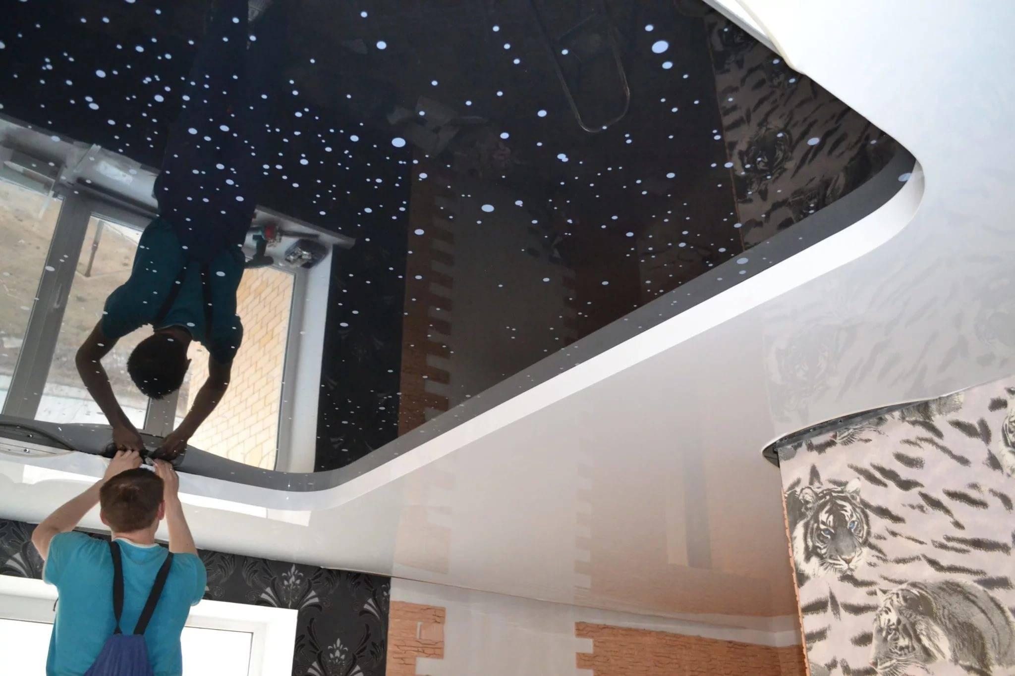 Насколько долговечны натяжные потолки?