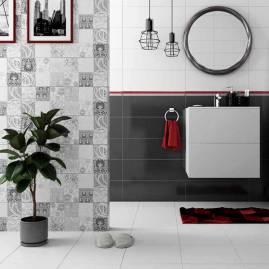 Уголок для ванны и выбираем керамический или пластиковый бордюр