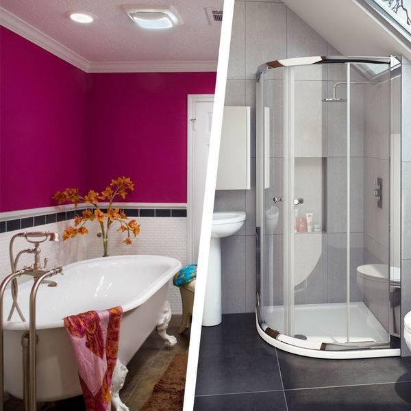 Что лучше ванна, или душевая кабина: за и против каждого сантехприбора | ремонт и дизайн ванной комнаты