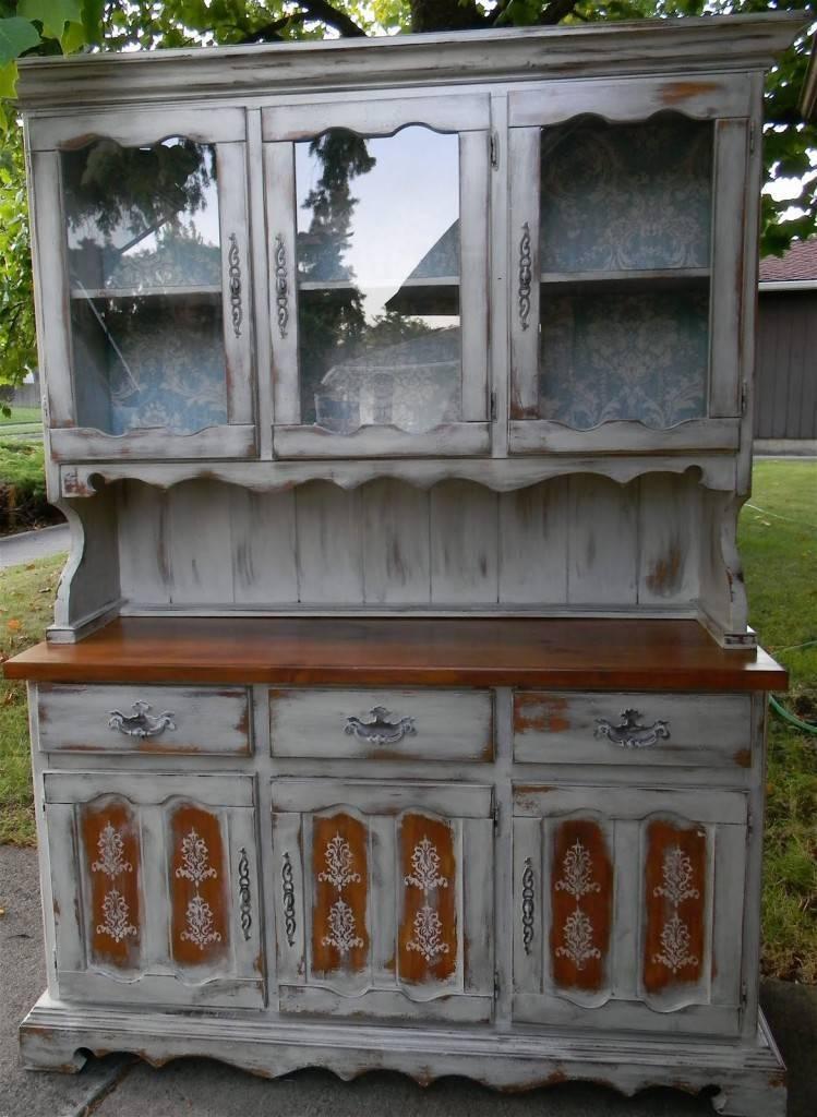 Декупаж мебели в стиле шебби шик и салфетками своими руками, реставрация мебели в стиле декупаж