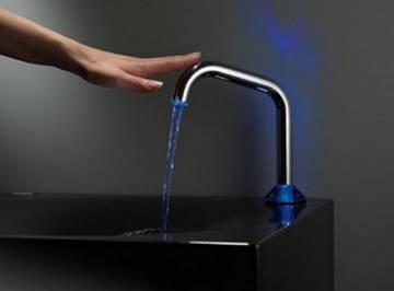 Водопроводные краны с ик датчиком открывания воды