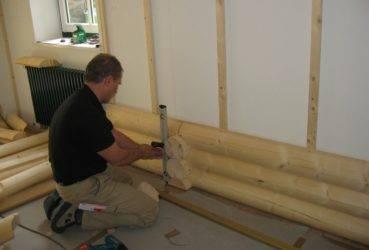 Блок-хаус для внутренней отделки дома, фото, монтаж, видео, как правильно сделать угол