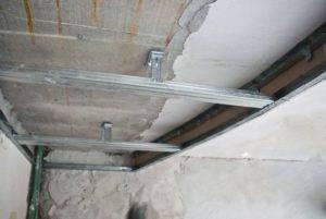 Каркас из профиля под гипсокартон: обрешетка для металлопрофиля, монтаж гипсокартона - как крепить к стене