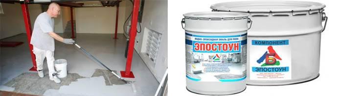 Краска для бетонных полов: виды покрытий и рекомендации по покраске