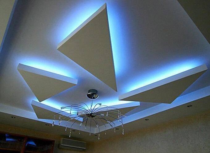 Особенности монтажа светодиодной подсветки комнаты