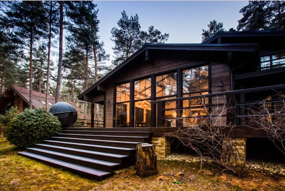 Лучшие деревянные дома: топ-100 фото примеров деревянных построек. советы по выбору утеплению, полам, окнам. плюсы и минусы деревянных домов