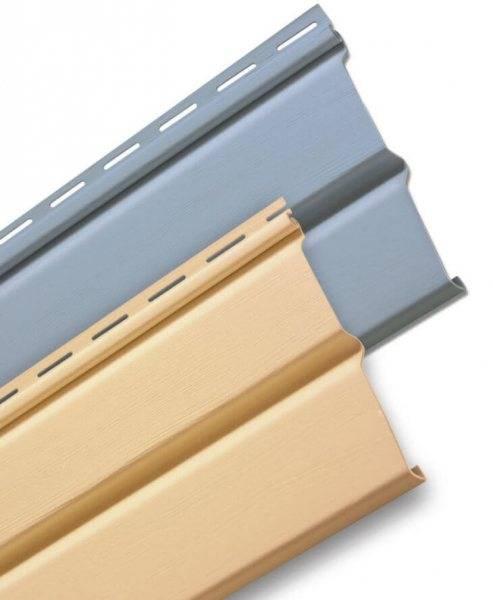 Размеры панелей сайдинга и расчет материала для обшивки дома