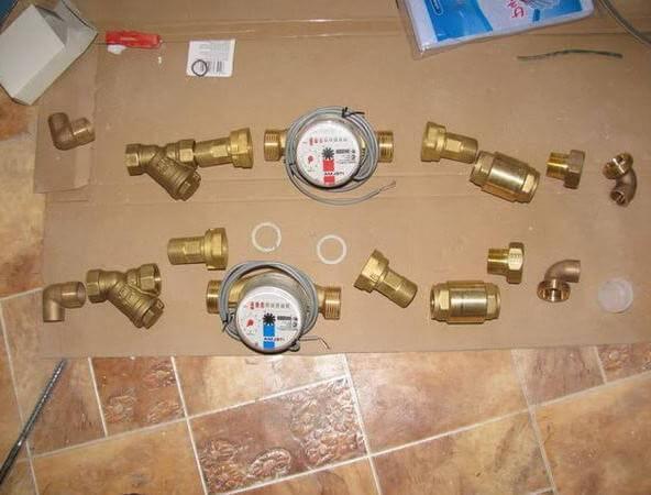 Как установить счетчики на воду в квартире