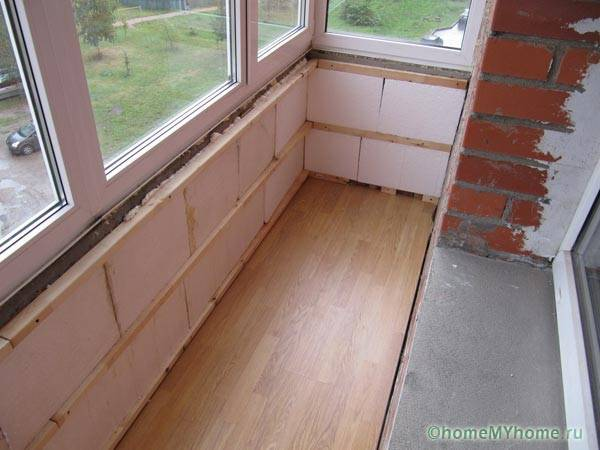 Обшивка балкона снаружи сайдингом своими руками