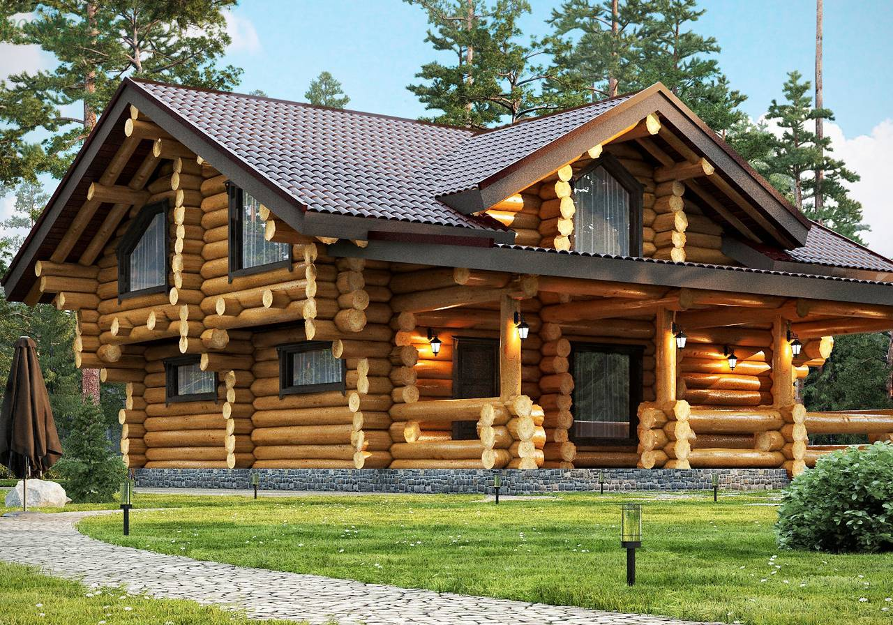 Сосна или лиственница для строительства и отделки дома