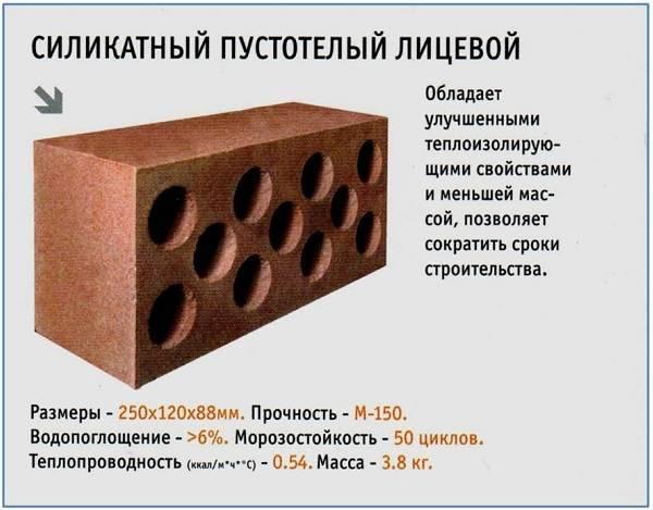 Силикатный кирпич: что это? фото, состав, характеристики, свойства, применение