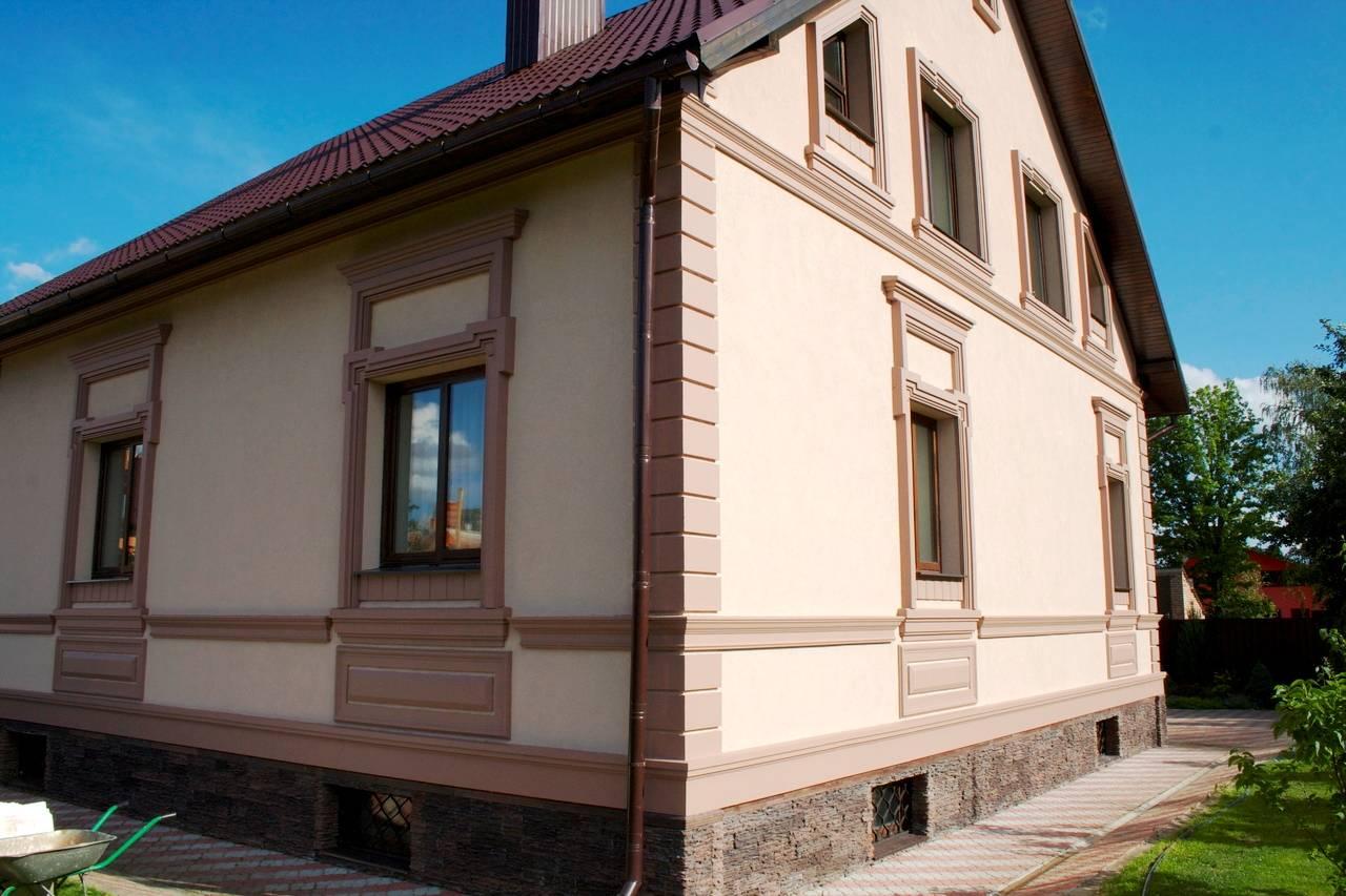 Отделка домов фасадными панелями: виды, дизайн панелей