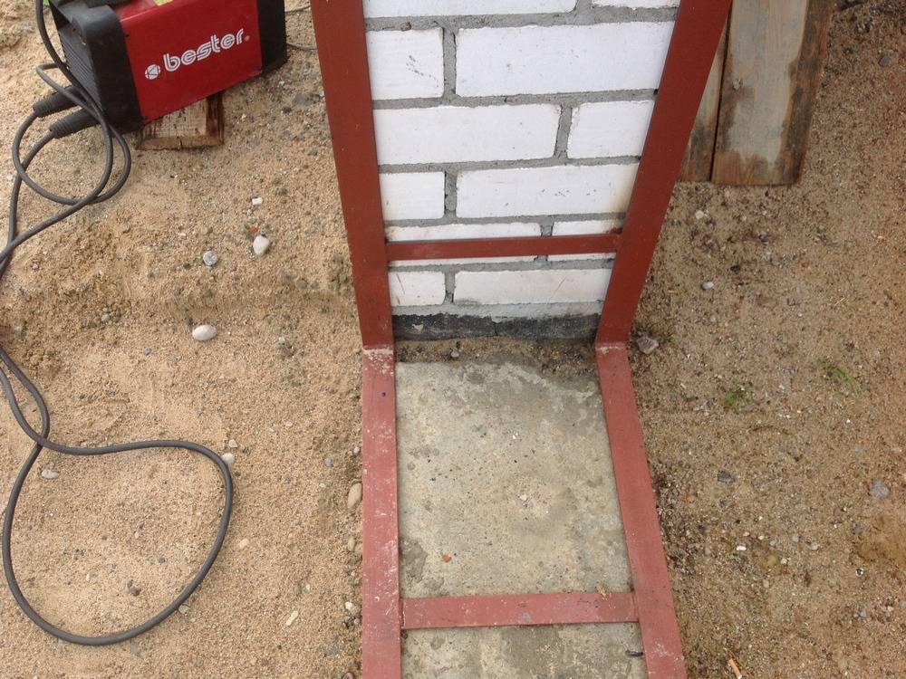 Как сделать распашные гаражные ворота