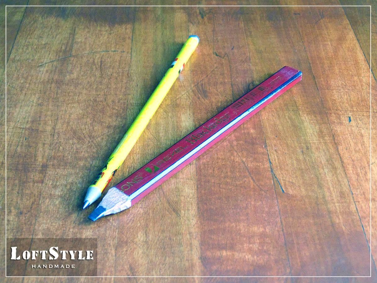 Простые чернографитные карандаши: твёрдость карандашей, виды, обозначения