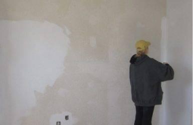Можно ли клеить обои на бетонные стены без штукатурки