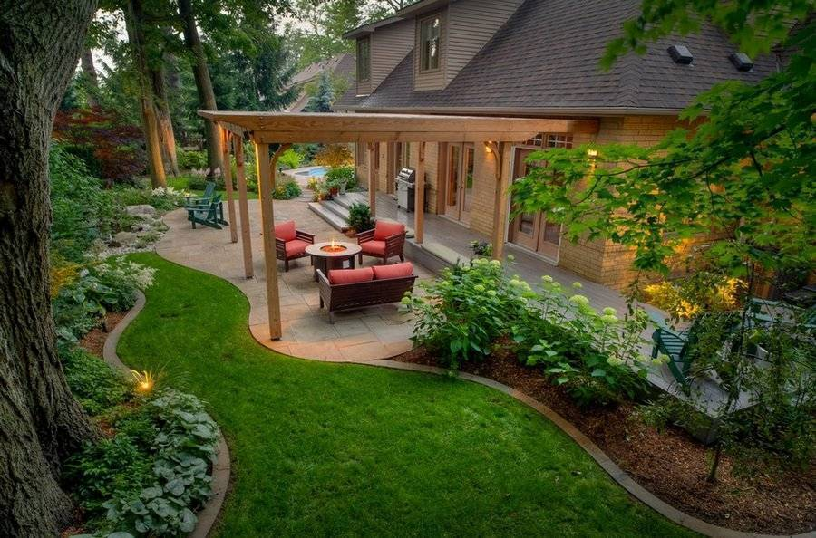 ➤ как украсить садовый, приусадебный, дачный участок (50 фото) | мы строители ✔1