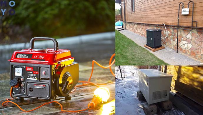 Генератор для дома – какой лучше выбрать электрогенератор для частного дома и дачи