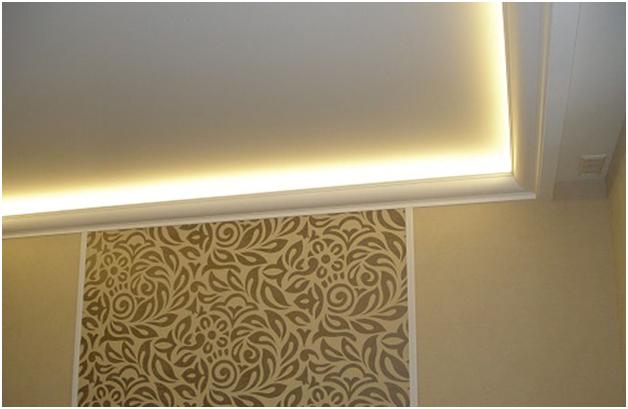 Как сделать подсветку в потолке правильно
