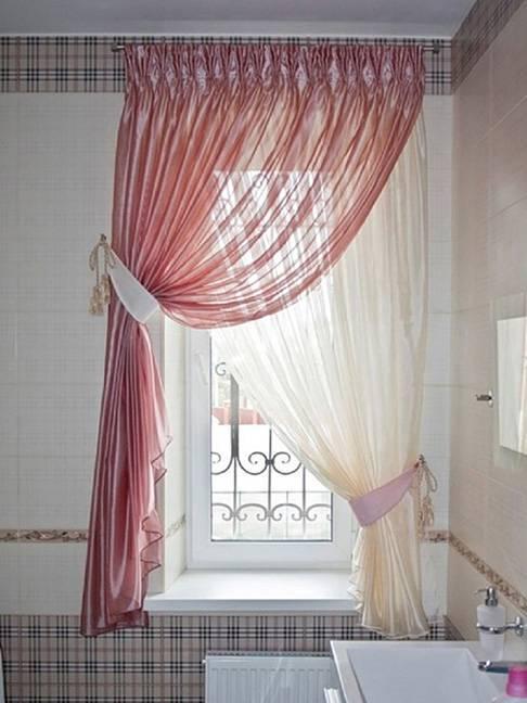 Как при помощи штор увеличить высоту комнаты