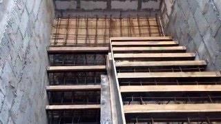 Бетонные лестницы: выбор процесса изготовления, своими руками