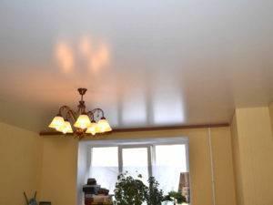 Выбираем натяжные потолки - какие лучше, глянцевые или матовые? все плюсы и минусы