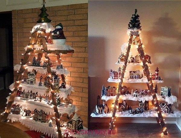 Новогоднее украшение дома своими руками: 95+ идей с фото