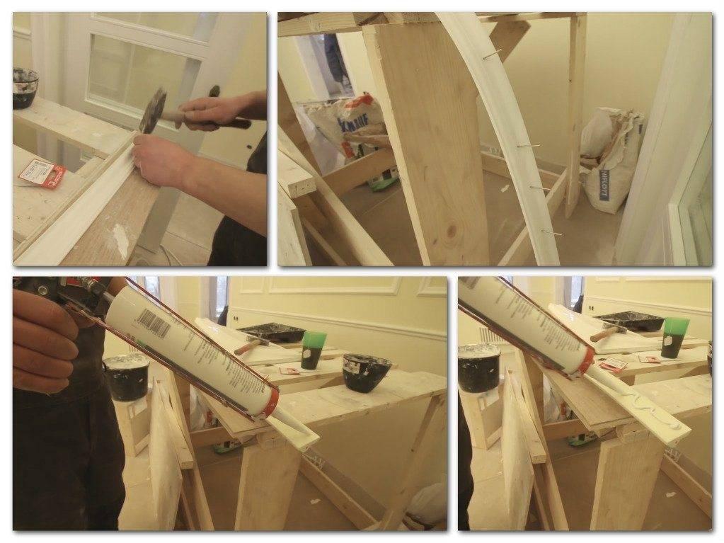 Варианты отделки арки: материалы и технологические нюансы. фото примеров